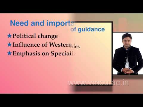 Guidance and Counseling : Need and Importance