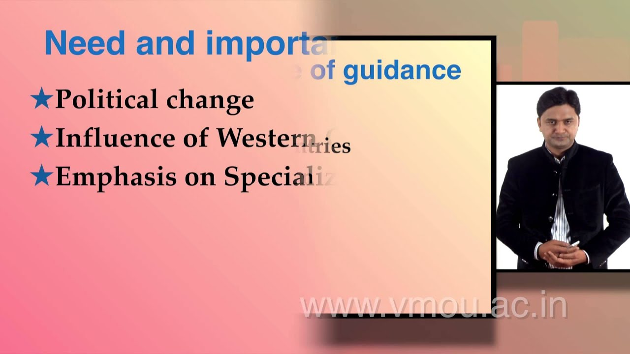 Guidance And Counseling Need And Importance Youtube