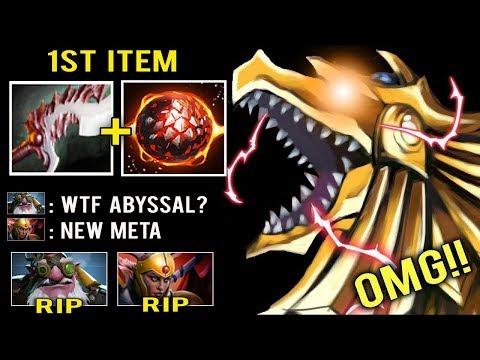 NEW CRAZY META 1st Item Abyssal No Escape Combo Top Phoenix Fun Style 7.24 Dota 2