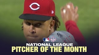 Castillo is the NL Pitcher of the Month