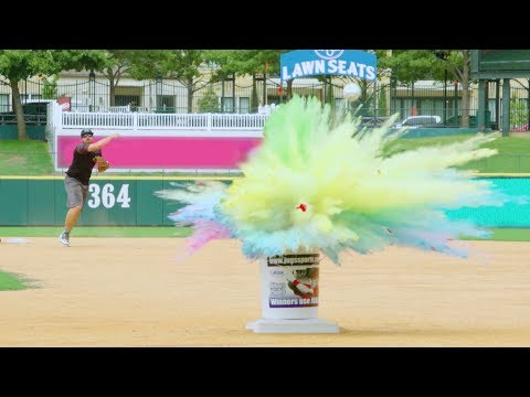 Baseball Trick Shots | Dude Perfect