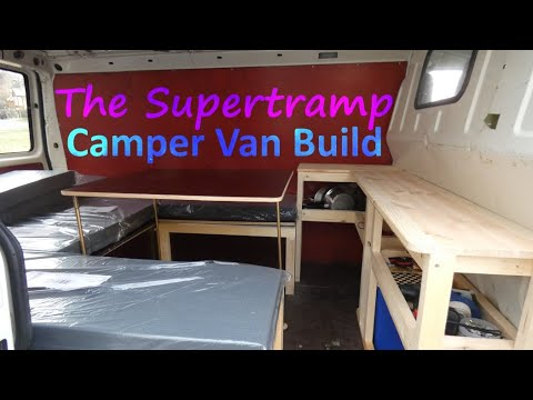 vw t4 transporter ausbau zum camper youtube. Black Bedroom Furniture Sets. Home Design Ideas