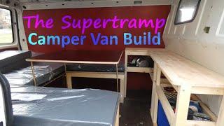 VW T4 Transporter  --  Ausbau zum Camper