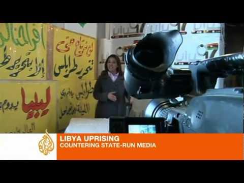 Fighting back in Libya's media war