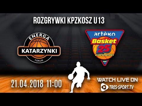 Rozgrywki KPZKOSZ U13 K | MMKS Katarzynki Toruń - KS Basket 25 I Bydgoszcz