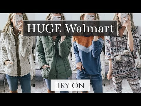 Huge Walmart Try On Haul: Cozy Winter Outfit Ideas | Lee Benjamin