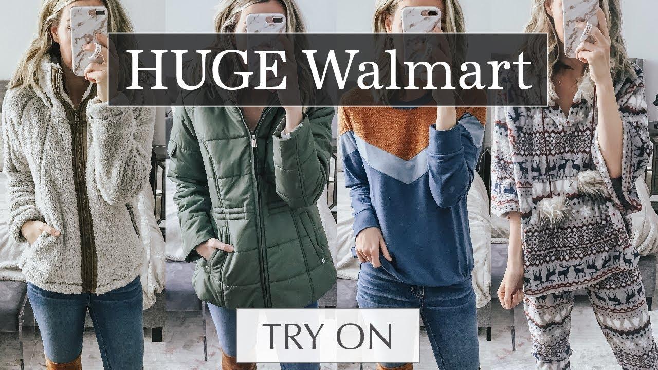 111973d08d16 Huge Walmart Try On Haul  Cozy Winter Outfit Ideas