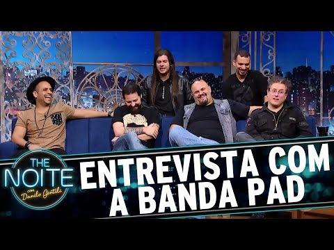 Entrevista com a banda PAD | The Noite (31/07/17)