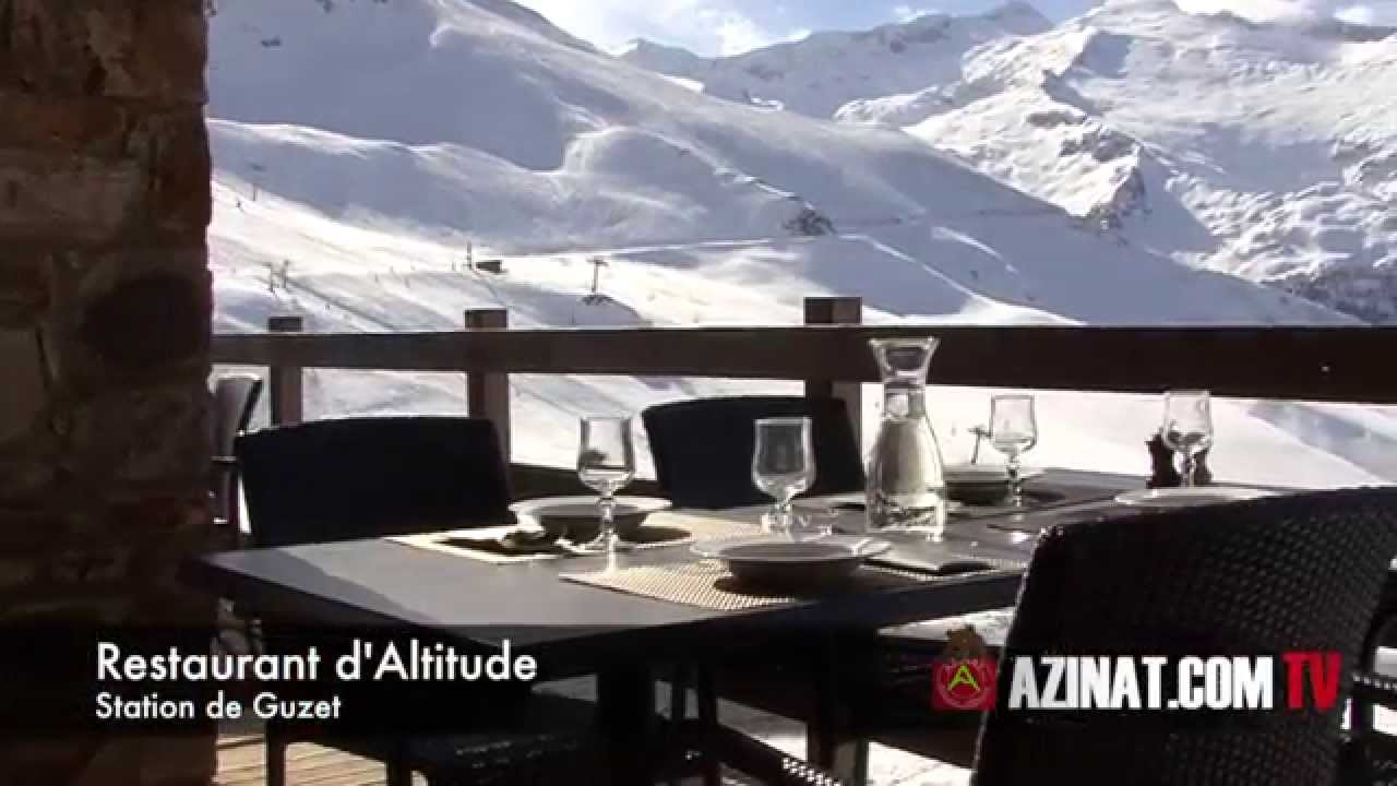 Restaurant d\'altitude Chalet de Beauregard Guzet Ariège (09) - YouTube