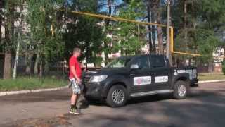 Toyota Hilux из экспедиции «Россия»