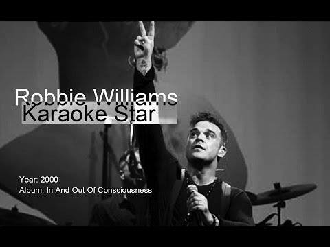 Robbie Williams | Karaoke Star | karaoke (vocals removed)