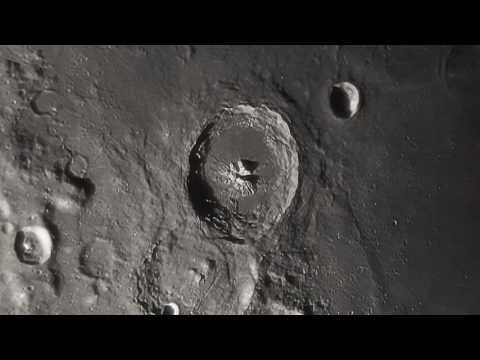 Scarred Moonscape - A Closer Look at the Lunar Surface HD