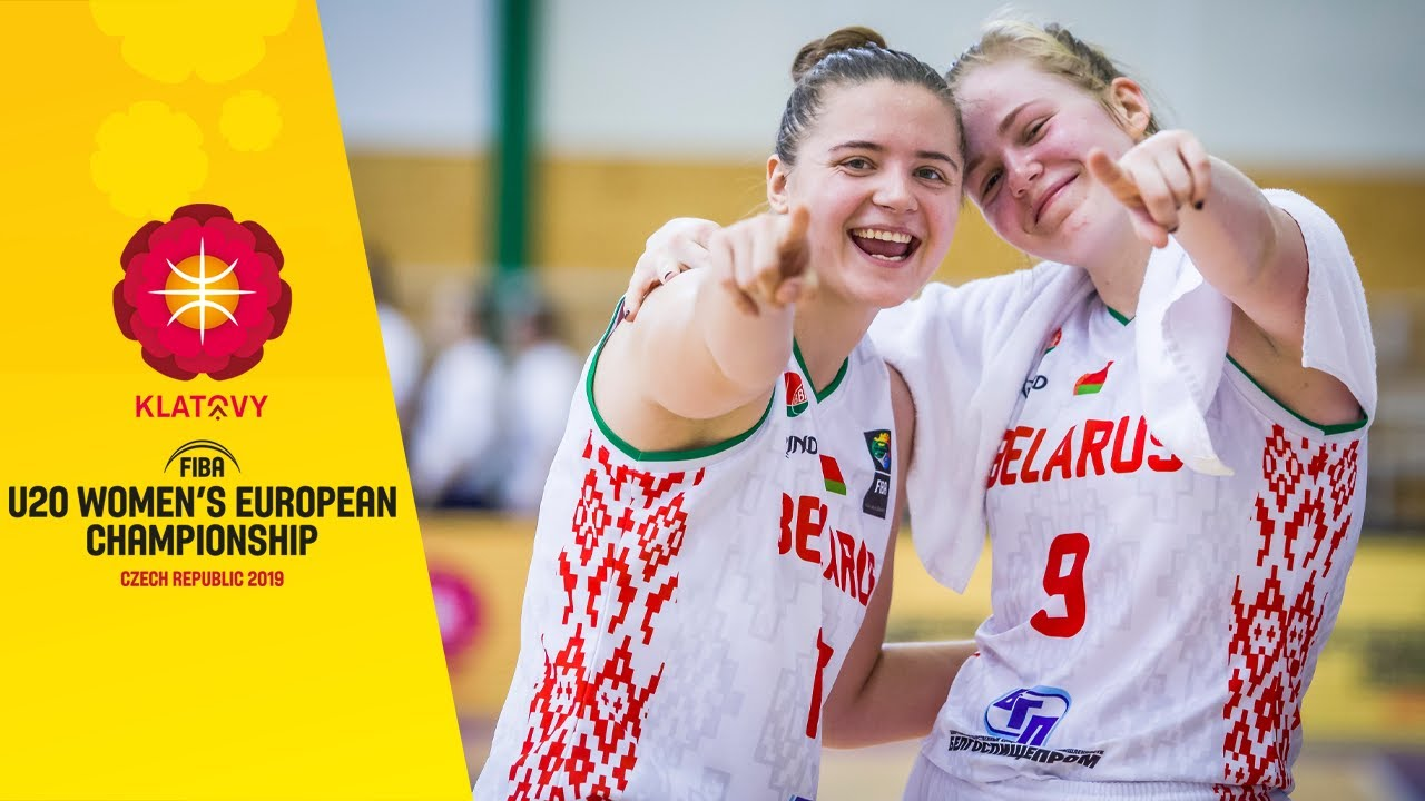 Belarus v Germany - Full Game - FIBA U20 Women's European Championship 2019