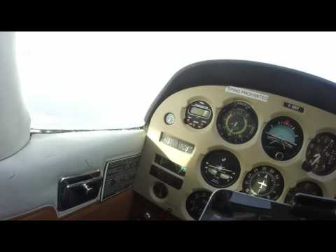 Cessna 172 freezing flight Calgary canada
