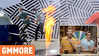 Rhett and Link explore some of their most hilarious bloopers. GMM #1294.4 Watch today's GMM: http://bit.ly/2p9hmNq | Watch a previous GMM: ...