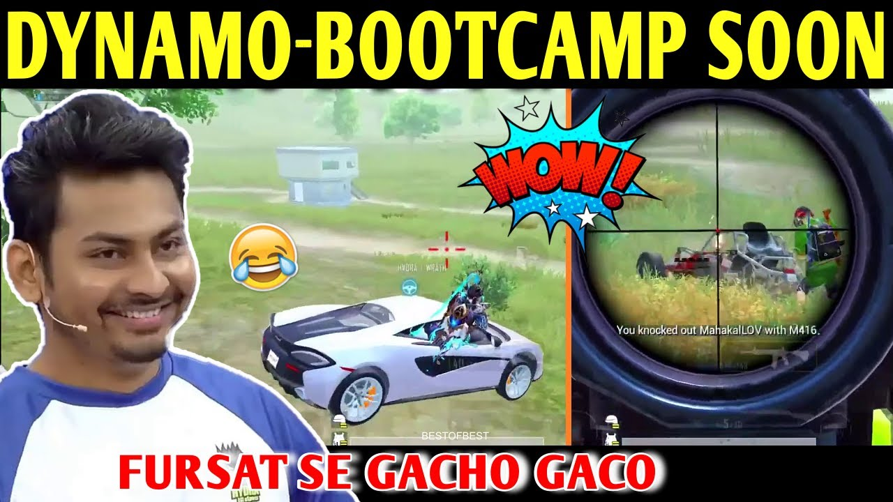DYNAMO - HYDRA BOOTCAMP COMING SOON | BATTLEGROUNDS MOBILE INDIA | BEST OF BEST