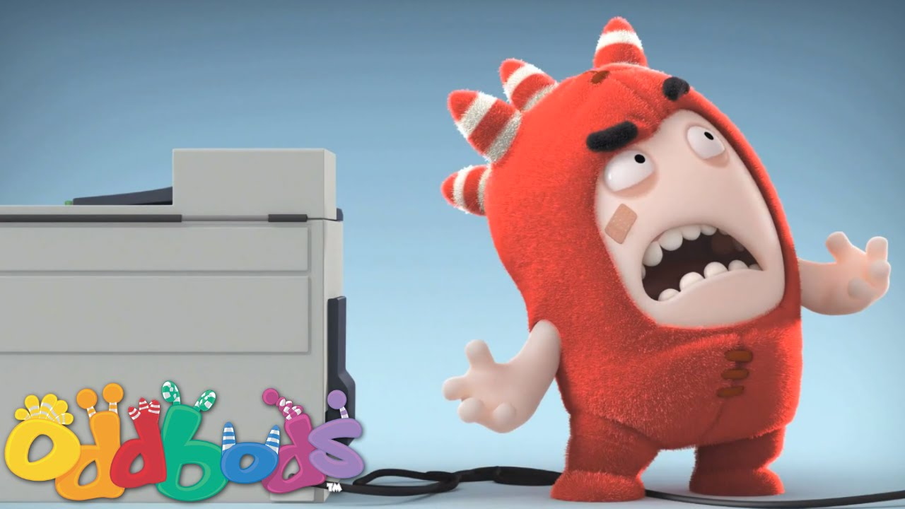 Oddbods   Fuse and the Photocopier