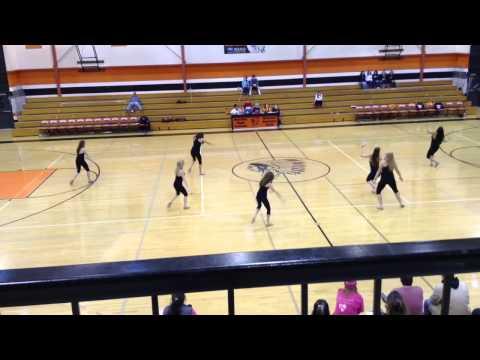Molalla High School dance team