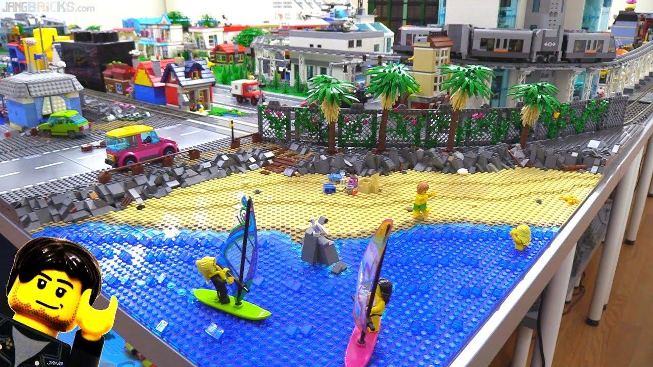 Lego city update expansion re work progress 6 youtube - Image lego city ...