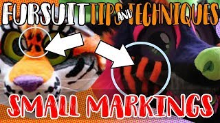 Fursuit Tips&Techniques: Small Markings