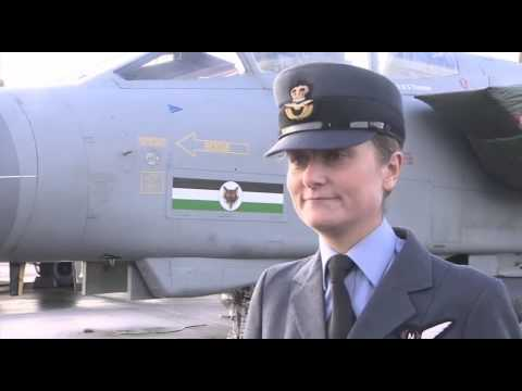 Meet the RAF's First Female Fast Jet Squadron Commander - 12.01.15