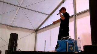 Mr Wiggles talks about Street Dance history at  MTV Gdansk Dzwiga Muze Festival 2011