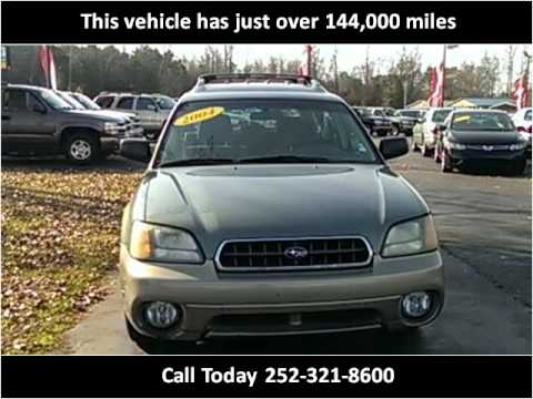 2004 Subaru Outback Used Cars Greenville NC - YouTube