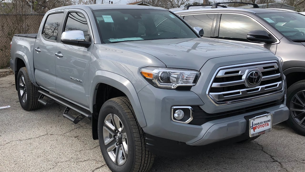 2018 toyota tacoma limited new updates youtube. Black Bedroom Furniture Sets. Home Design Ideas