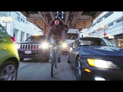 Nico VS Taxi - Bike Messenger Races Taxi Across Chicago