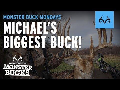 Monster Buck Monday | Michael Waddell's Biggest Buck Ever