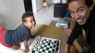 Como ensinar xadrez para uma criança de 4 anos