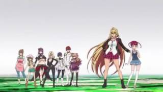 Valkyrie Drive  Mermaid   Сила Валькирии  Русалочка Opening