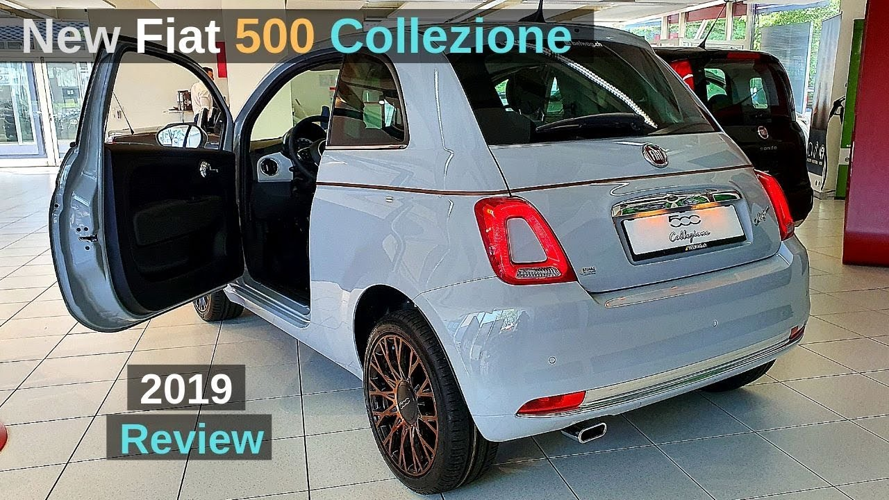 Uitgelezene New Fiat 500 Collezione 2019 Review Interior Exterior - YouTube AO-24
