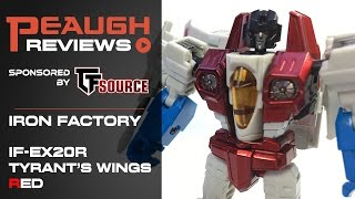 Video Review: Iron Factory IF-EX20R - Tyrant