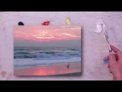 Painting Waves at Dawn