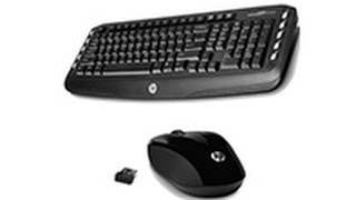 HP Wireless Classic Desktop/Laptop Keyboard and Mouse Combo 2.4 GHz Unboxing