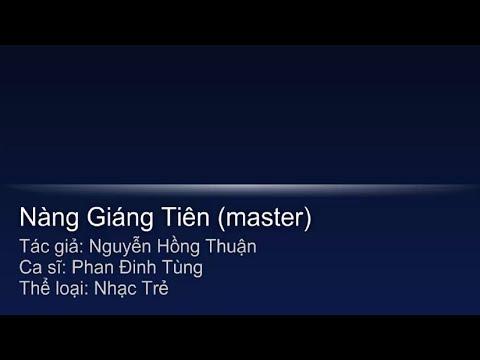[Karaoke] Nàng Giáng Tiên -  Beat Chuẩn