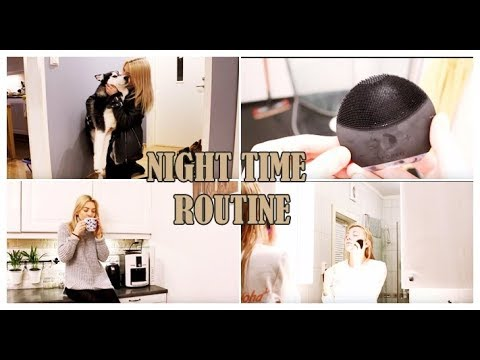 Night Time Routine | Wieczorna Pielęgnacja - YouTube