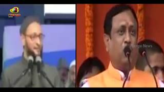 Asaduddin Owaisi Vs VHP: War of words over Owaisi hate speech