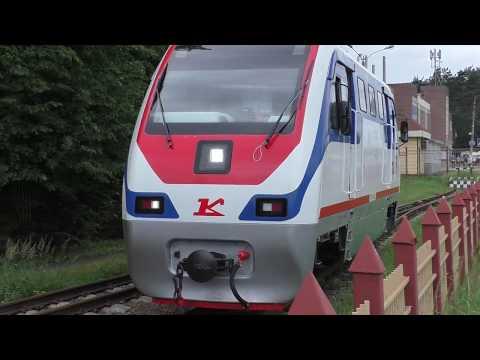Кратовская детская железная дорога в 2018 60fps