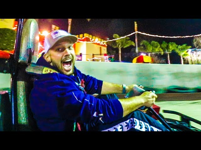 KICKED OUT OF AMUSEMENT PARK!