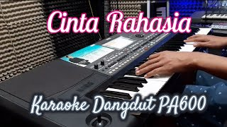 Download Lagu CINTA RAHASIA - KARAOKE DANGDUT TANPA VOKAL    LIRIK    PA600 mp3