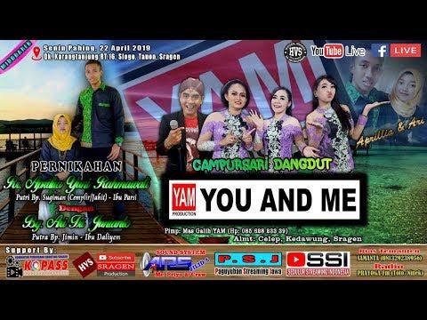 Live Streaming Campursari YOU AND ME // ARS AUDIO Jilid 5 // HVS SRAGEN