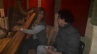 شمس المغيب .#محمد منير .#ياسمين الحربي#harp