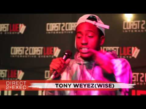 Tony Weyez Performs at Direct 2 Exec NYC 7/25/17 - Atlantic Records