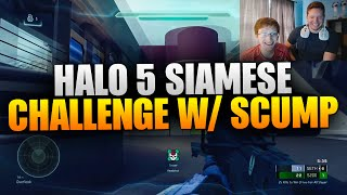 SIAMESE TWIN CHALLENGE WITH SCUMP - HALO 5