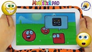 MonsterPad Детский планшет Видео для детей Распаковка