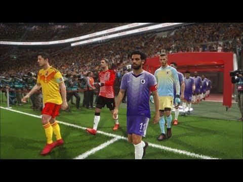 Premier league all stars vs bundesliga all stars i pes 2018 full match gameplay