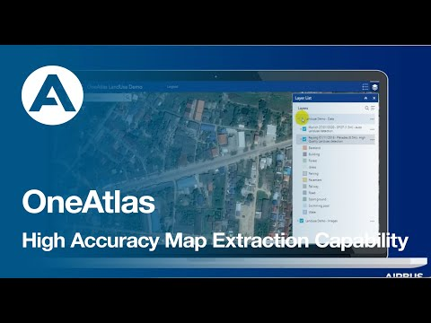 OneAtlas - High Accuracy Map Extraction Capability