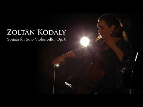 Nancy Green  Kodaly Sonata for Solo Cello, opus 8